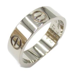 カルティエ ラブリング 指輪 K18WG(750) ホワイトゴールド  ランクA #52/12号|brandoff