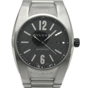 ブルガリ エルゴン ウォッチ 腕時計 シルバー ステンレススチール(SS) EG40S ランクA|brandoff