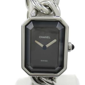 シャネル プルミエールM ウォッチ 腕時計 シルバー ステンレススチール(SS) H0452 ランクB|brandoff
