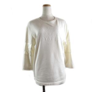 ルイヴィトン Tシャツ ベージュ コットン x シルク  ランクS|brandoff