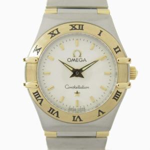 オメガ コンステレーション ミニ ウォッチ 腕時計 シルバー ステンレススチール(SS) x 18Kイエローゴールド  ランクA|brandoff