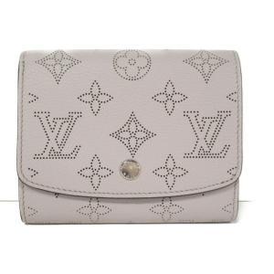ルイヴィトン ポルトフォイユ・イリスコンパクト 二つ折り財布 財布 ガレ マヒナ M62542 ランクA|brandoff