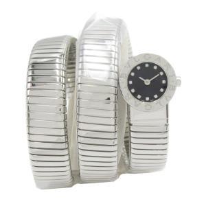 ブルガリ ブルガリブルガリ トゥボガス スネーク ウォッチ 腕時計 シルバー ステンレススチール(SS)xダイヤモンド BB191TS ランクA|brandoff