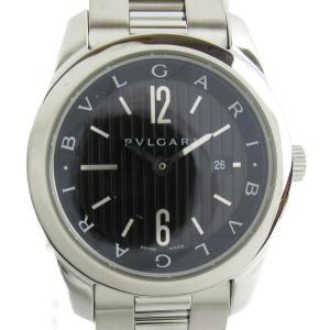 ブルガリ ソロテンポ 腕時計 ウオッチ シルバー ステンレススチール(SS) ST30BSSD ランクA|brandoff