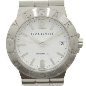 ブルガリ ディアゴノスポーツ ウォッチ 腕時計 シルバー ステンレススチール(SS) LCV35 ランクA|brandoff