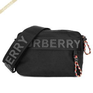 〈クーポン配布中〉バーバリー BURBERRY ショルダーバッグ ロゴ クロスボディ ブラック 8025669|brandol-s