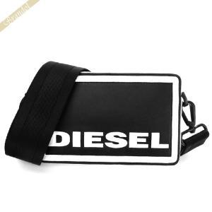 〈クーポン配布中〉ディーゼル DIESEL レディース ショルダーバッグ ROSA キューブエイト クロスボディ ブラック X06258 P3194 H1532|brandol-s