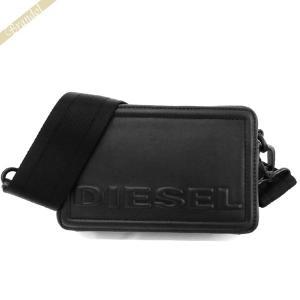 〈クーポン配布中〉ディーゼル DIESEL レディース ショルダーバッグ ROSA キューブエイト クロスボディ ブラック X06258 PR030 T8013|brandol-s