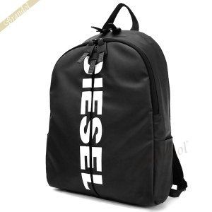 〈クーポン配布中〉ディーゼル DIESEL リュックサック BOLD BACK II ロゴ バックパック ブラック X06330 P1705 T8013|brandol-s