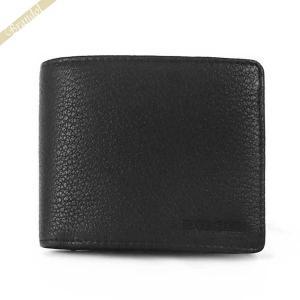 〈クーポン配布中〉ディーゼル DIESEL メンズ 二つ折り財布 シープレザー ブラック X06627 P0396 T8013|brandol-s