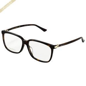 グッチ GUCCI メンズ メガネフレーム スクエア型 セルフレーム マーブル柄 ブラウン GG0295OA-002 brandol-s