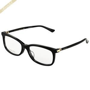 グッチ GUCCI メンズ メガネフレーム スクエア型 セルフレーム ブラック GG0296OA-001 brandol-s