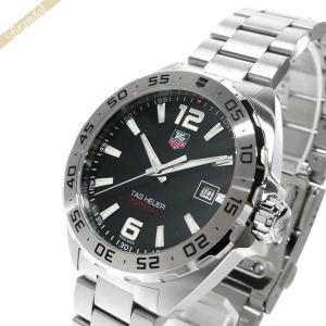 タグホイヤー TAG Heuer メンズ腕時計 フォーミュラ1 41mm ブラック×シルバー WAZ...