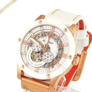 エンジェルクローバー Angel Clover メンズ腕時計 エクスベンチャー 43mm ホワイト×ローズゴールド EVA43PWH WH [在庫品]|brandol