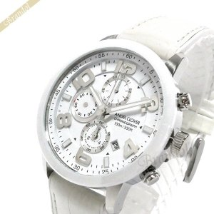 エンジェルクローバー Angel Clover メンズ腕時計 ルーチェ LUCE クロノグラフ 44mm ホワイト LU44SWH WH|brandol