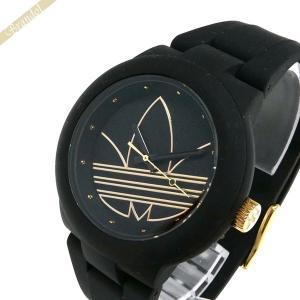 アディダス adidas メンズ・レディース 腕時計 アディダスオリジナルス ABERDEEN アバディーン 40mm ブラック ADH3013|brandol