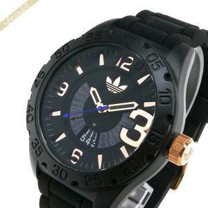 アディダス adidas メンズ腕時計 アディダスオリジナルス NEWBURGH ニューバーグ 48mm ブラック ADH3082 brandol