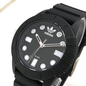 アディダス adidas メンズ 腕時計 アディダスオリジナルス スーパースター 44mm ブラック ADH3101 brandol