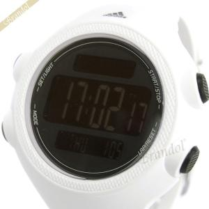 アディダス adidas メンズ腕時計 パフォーマンス QUESTRA デジタル ランニングウォッチ 54mm ブラック×ホワイト ADP3261 [在庫品]|brandol