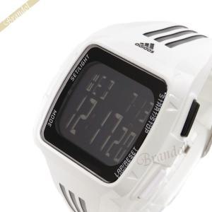 アディダス adidas メンズ腕時計 パフォーマンス デュラモ デジタル ブラック×ホワイト ADP6091 [在庫品]|brandol