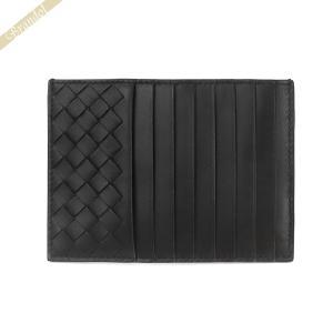 ボッテガヴェネタ BOTTEGA VENETA メンズ・レディース カードケース レザー コインケース ブラック 162156 V001N 1000 [在庫品]|brandol