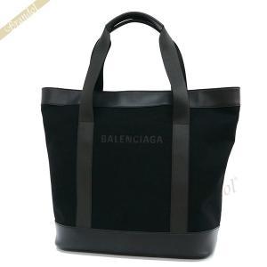 バレンシアガ Balenciaga メンズ・レディース トートバッグ 縦型 ラージ キャンバストート ブラック 374767 AQ3AN 1000 【2019年春夏新作】 [在庫品]|brandol