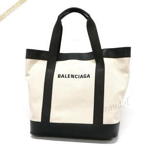 バレンシアガ Balenciaga メンズ・レディース トートバッグ 縦型 ラージ ナチュラル×ブラック 374767 AQ3AN 9260 【2019年春夏新作】 [在庫品]|brandol