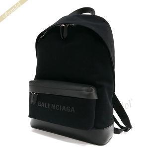 バレンシアガ Balenciaga メンズ・レディース リュックサック ロゴ バックパック ブラック 392007 AQ3AN 1000 【2019年春夏新作】 [在庫品]|brandol