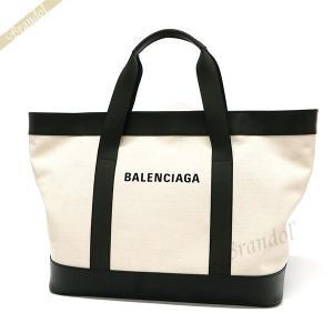 バレンシアガ Balenciaga メンズ・レディース トートバッグ ラージ キャンバストート ナチュラル×ブラック 479290 AQ3AN 9260 【2019年春夏新作】 [在庫品]|brandol