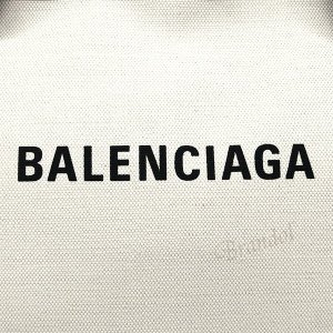 バレンシアガ Balenciaga メンズ・レディース トートバッグ ラージ キャンバストート ナチュラル×ブラック 479290 AQ3AN 9260 【2019年春夏新作】 [在庫品]|brandol|07