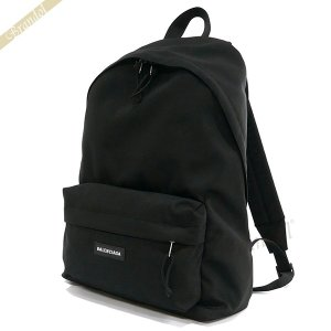 バレンシアガ Balenciaga メンズ・レディース リュックサック ロゴ ナイロン バックパック ブラック 503221 9TY55 1000 [在庫品]|brandol