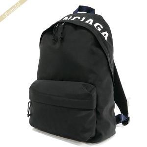 バレンシアガ Balenciaga レディース リュック ロゴ WHEEL バックパック ブラック 525162 9F91X 1090 [在庫品]|brandol