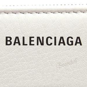 バレンシアガ Balenciaga レディース 二つ折り財布 エブリデイ ビルフォールド ロゴ ホワイト系 551933 DLQ0N 1209 【2019年春夏新作】 [在庫品] brandol 06