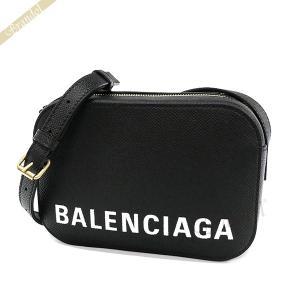 バレンシアガ Balenciaga レディース ショルダーバッグ ヴィル VILLE  ロゴ ブラック 558171 0OTDM 1000 【2019年春夏新作】 [在庫品]|brandol
