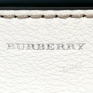 バーバリー BURBERRY レディース トートバッグ ショルダー レザー ベルトバッグ 2way ネイビー×ホワイト 8006577 A1250 【2019年春夏新作】 [在庫品]|brandol|07