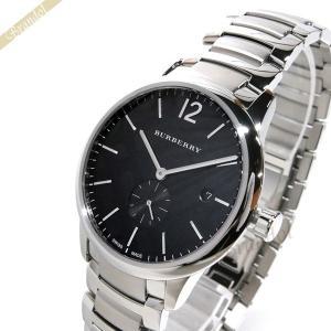 バーバリー BURBERRY メンズ 腕時計 The Classic Round クラシックラウンド 40mm ブラック×シルバー BU10005 [在庫品]|brandol