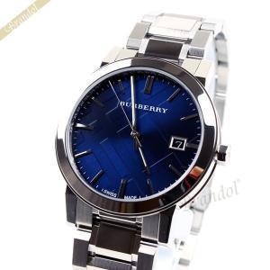 バーバリー BURBERRY メンズ 腕時計 The City シティ 38mm ブルー BU9031 [在庫品]|brandol