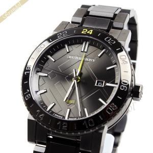 バーバリー BURBERRY メンズ 腕時計 The City シティ ガンメタル GMT 42mm ガンメタル BU9340 [在庫品] brandol