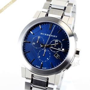 バーバリー BURBERRY メンズ 腕時計 The City シティ 42mm クロノグラフ ブルー BU9363 [在庫品]|brandol