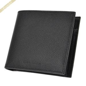 b1a5e007354b ブルガリ BVLGARI メンズ 二つ折り財布 CLASSICO クラッシコ レザー ブラック 20253 [在庫品]