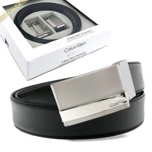 カルバンクライン Calvin Klein ベルト リバーシブル レザー ベルト 替えバックル付 フリーサイズ ブラック×ブラウン 2974310 BLACK/BROWN [在庫品]|brandol