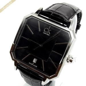 カルバンクライン Calvin Klein メンズ腕時計 CK CONCEPT CKコンセプト 42mm ブラック K1U21107|brandol