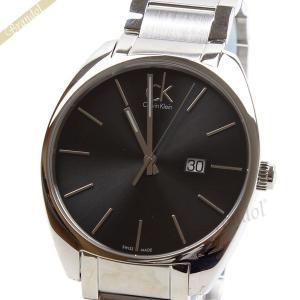 カルバンクライン Calvin Klein メンズ腕時計 CK Exchange エクスチェンジ 44mm ブラック×シルバー K2F21161 [在庫品]|brandol
