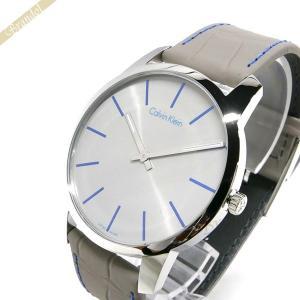 カルバンクライン Calvin Klein メンズ 腕時計 シティ 43mm グレー K2G211.Q4 [在庫品]|brandol