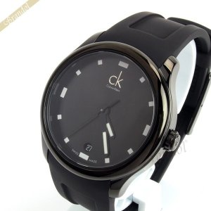 カルバンクライン Calvin Klein メンズ腕時計 CK ビジブル 41mm オールブラック K2V214D1 [在庫品]|brandol