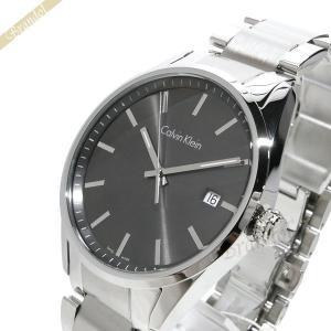 カルバンクライン Calvin Klein メンズ 腕時計 フォーマリティ 43mm ガンメタ×シルバー K4M211.43 [在庫品]|brandol