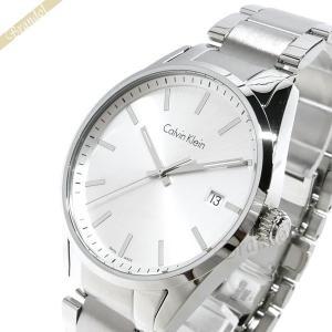 カルバンクライン Calvin Klein メンズ 腕時計 フォーマリティ 43mm シルバー K4M211.46 [在庫品]|brandol