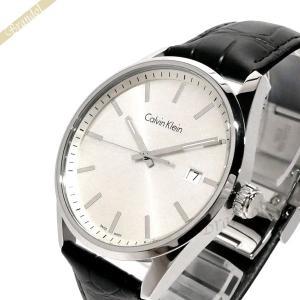 カルバンクライン Calvin Klein メンズ腕時計 フォーマリティ 44mm シルバー×ブラック K4M211.C6 [在庫品]|brandol