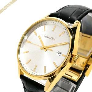 カルバンクライン Calvin Klein メンズ腕時計 フォーマリティ 44mm シルバー×ブラック K4M215.C6 [在庫品]|brandol