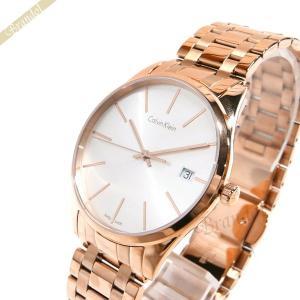 カルバンクライン Calvin Klein レディース 腕時計 タイム 36mm シルバー×ゴールド K4N236.46 [在庫品]|brandol